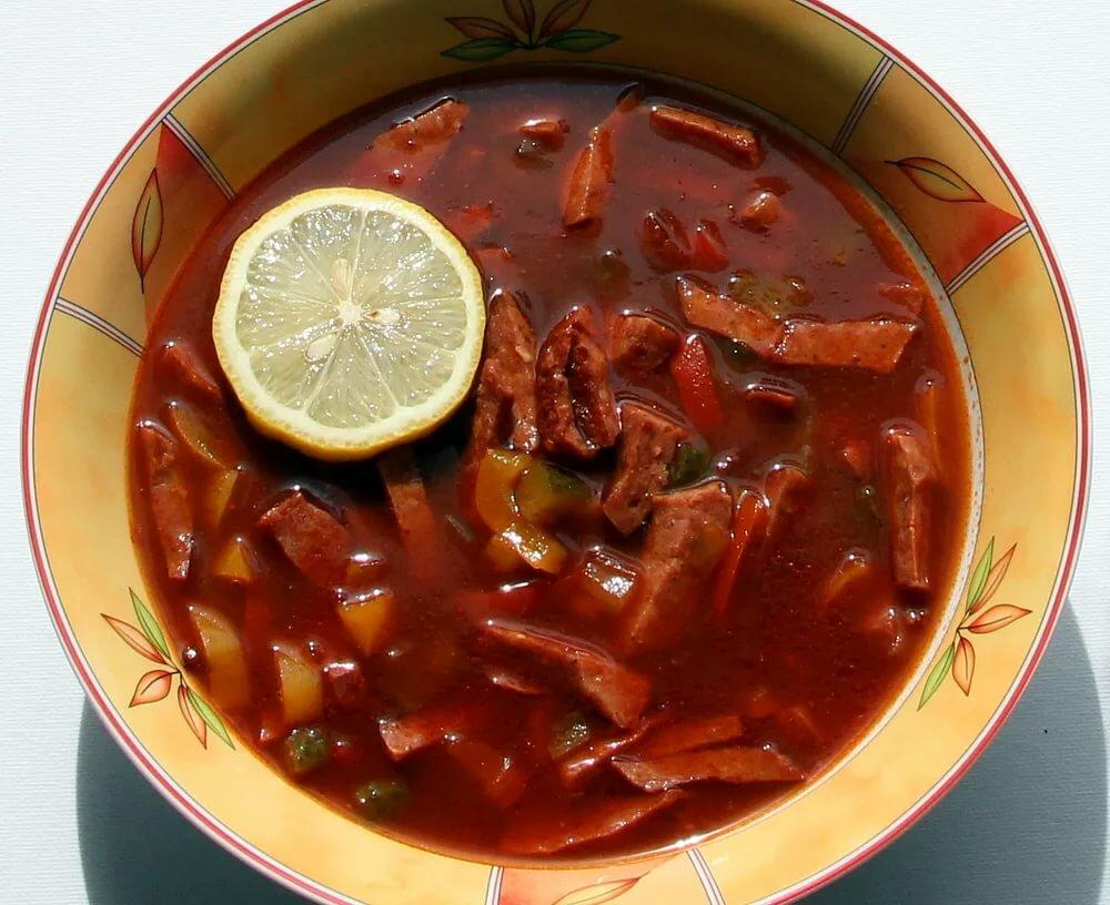 приготовление супа солянка сборная мясная с фото важны две