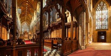 вестминстерский собор интерьер