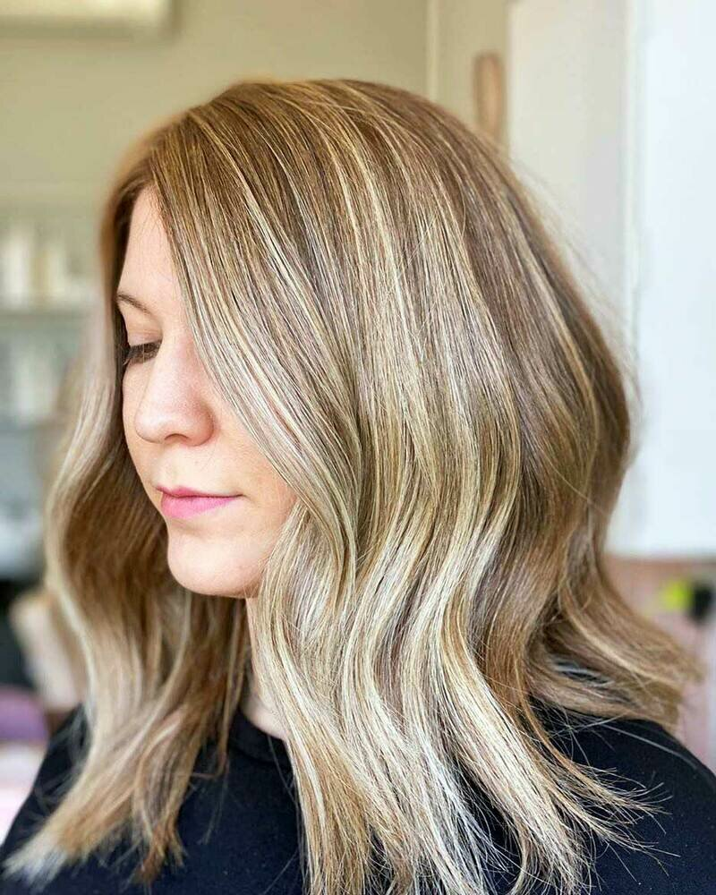 что такое калифорнийское мелирование волос фото там танит начала