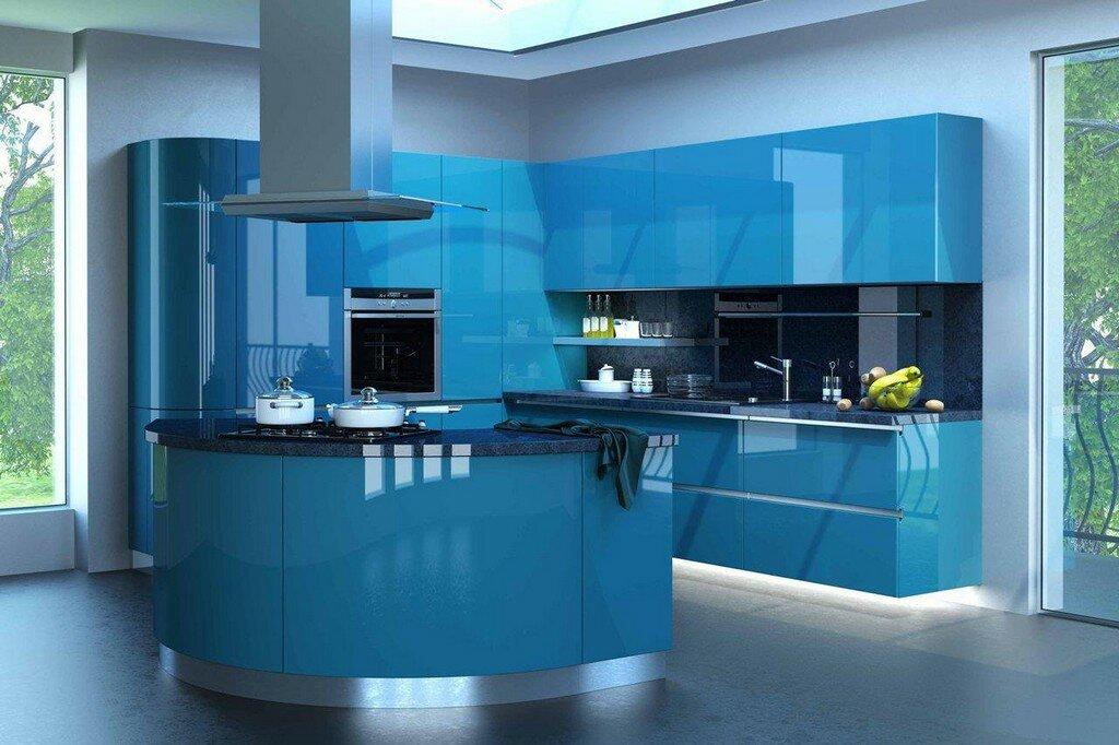 кухни с эмалевыми фасадами фото новом формате