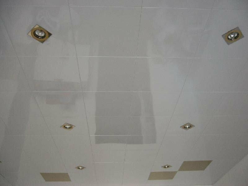 Кассетный потолок №44