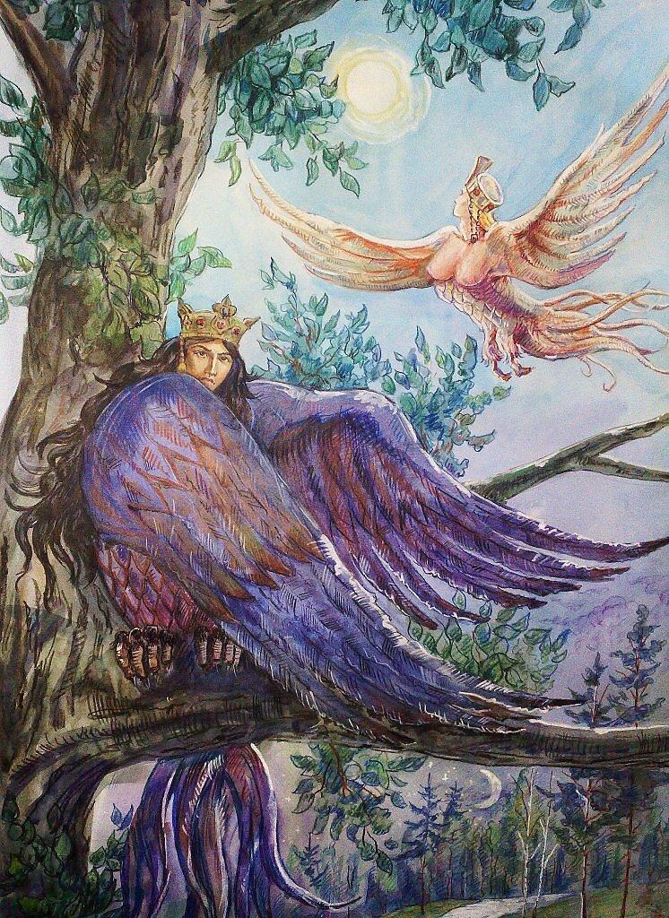 Картинки из русских мифов