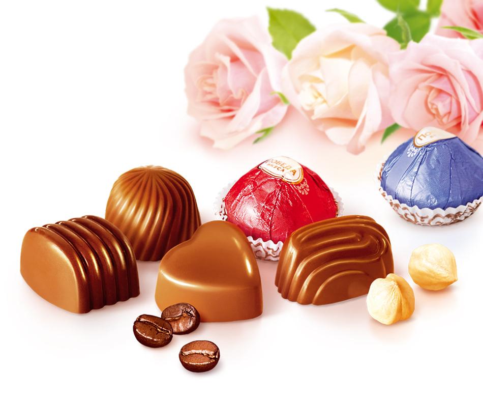 Картинка три конфеты