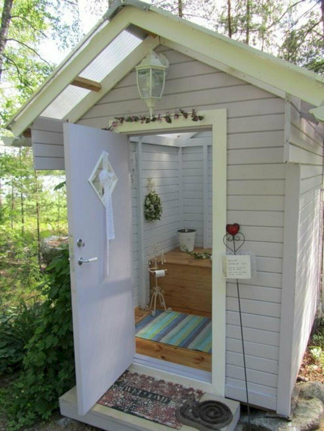 Туалет на даче фото картинки