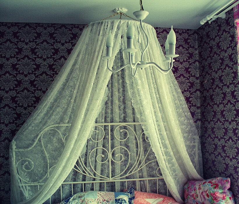 них имеет балдахин над кроватью своими руками фото вот