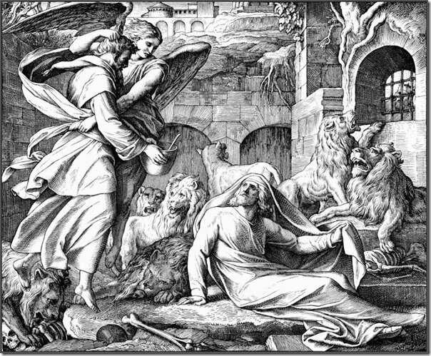 Даниил во львином рву и Аввакум