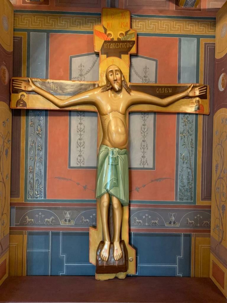 Животворящий крест картинки