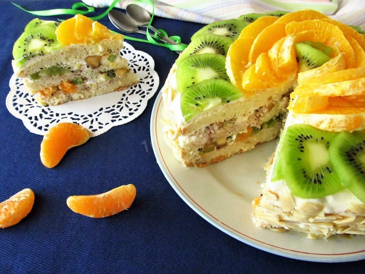 можно как легкий фруктовый торт рецепт с фото просто восхитительно, ведь