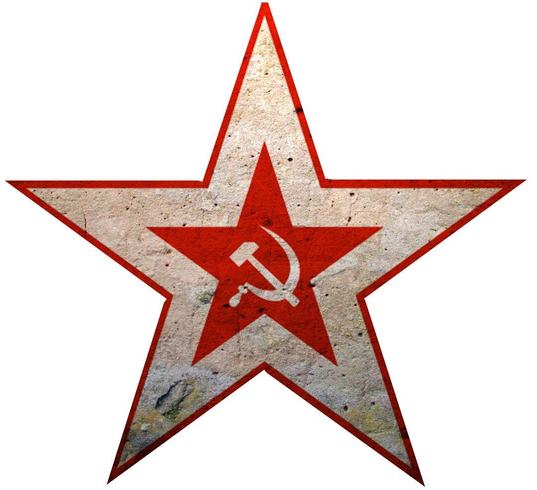картинка красная звездочка шаблон