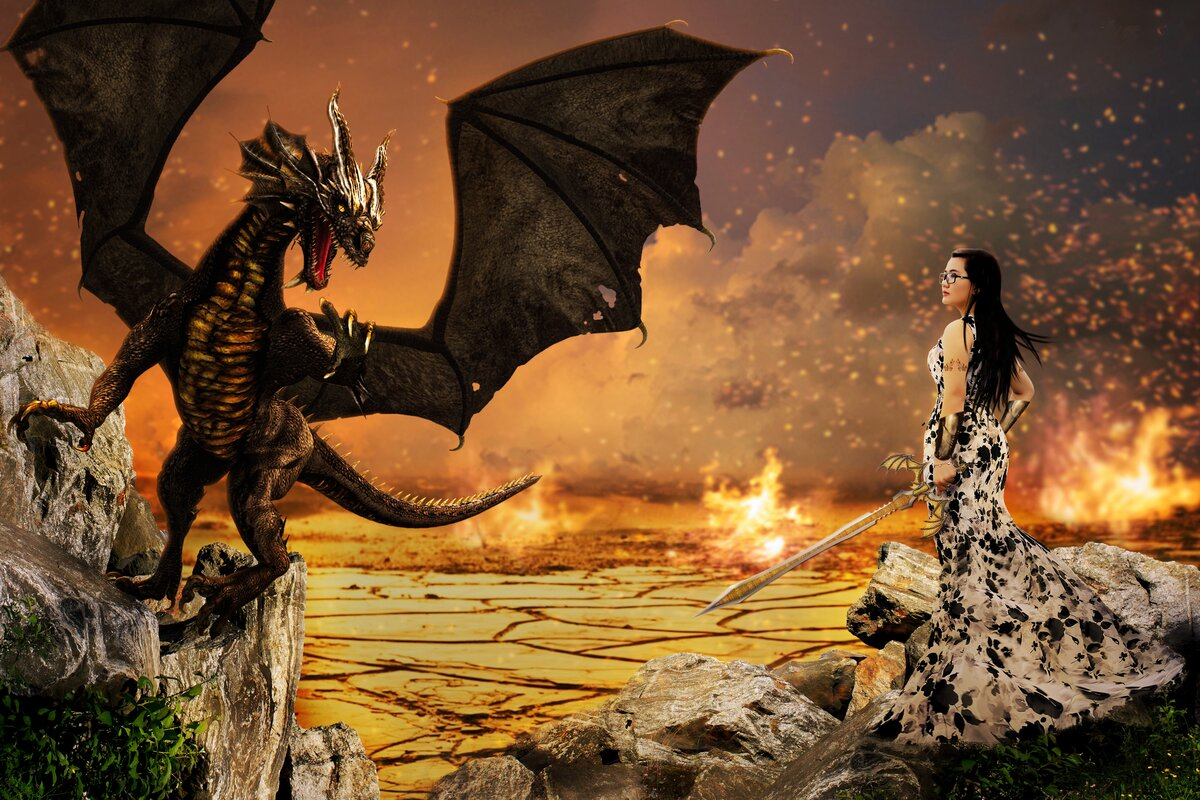 сборник картинок драконы