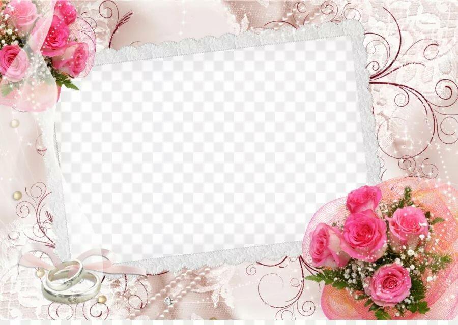 Свадебные приглашения рамки с фото