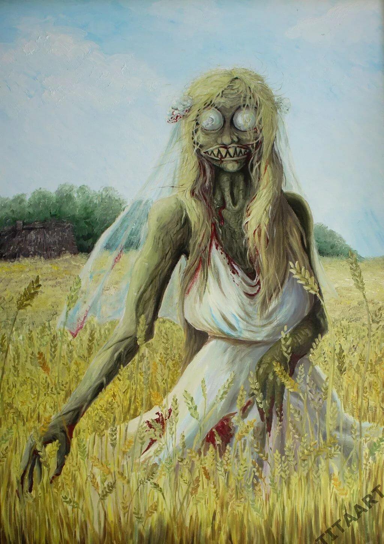 Картинки страшных кикимор