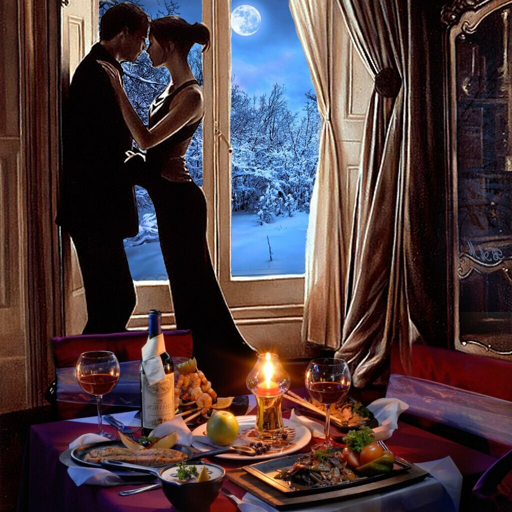 Романтичного вечера картинка