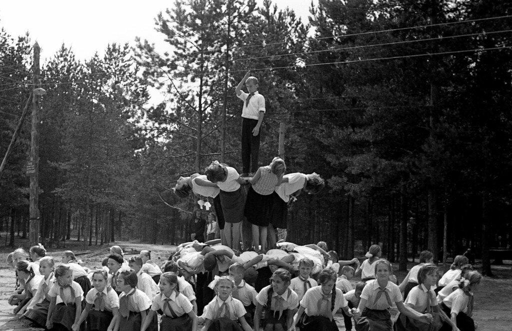 Пионерский лагерь в ссср фото