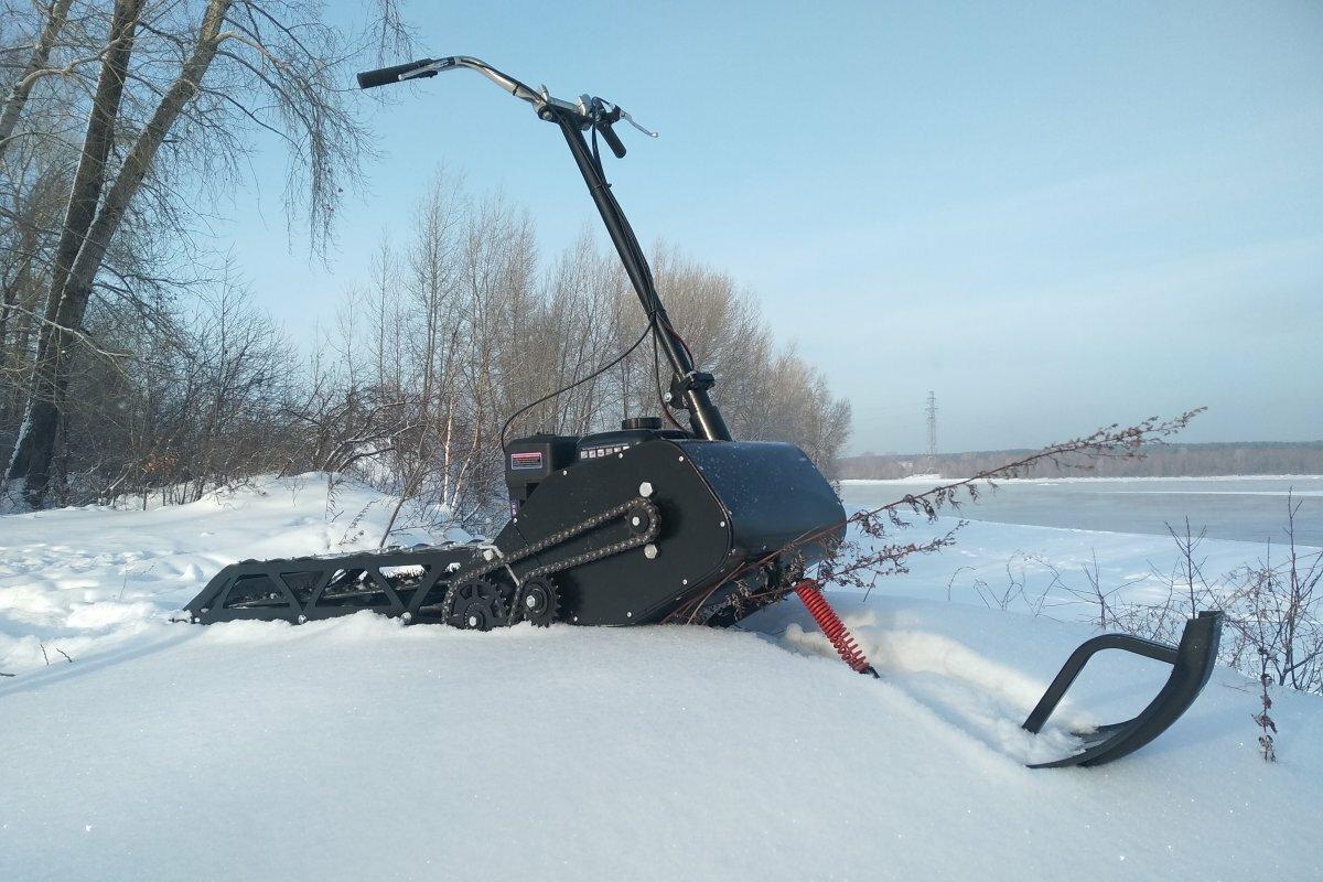 Снегокат с мотором Русак