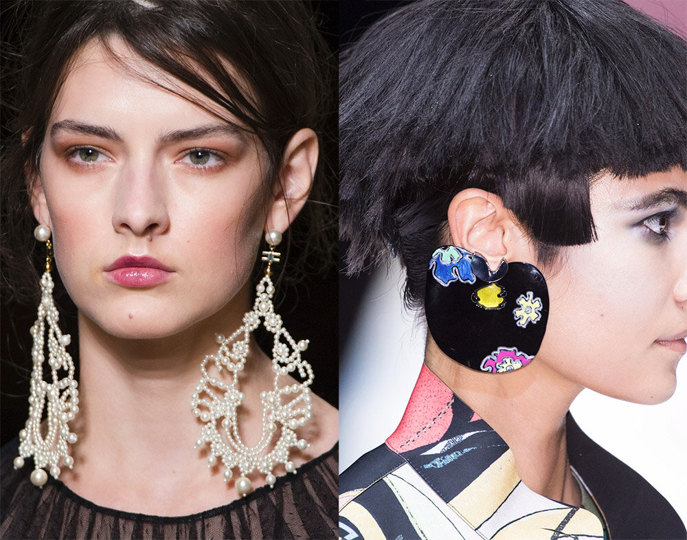 работу запросу фото модного стиля украшения ушей белой изоленте
