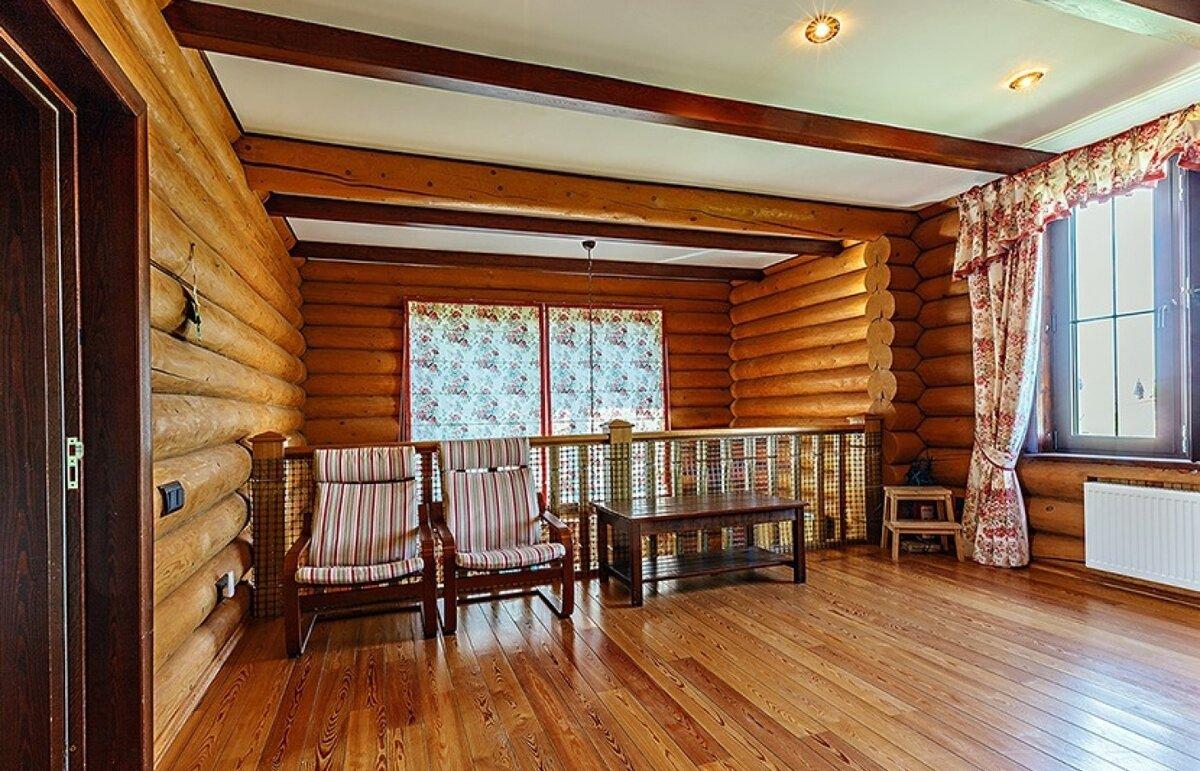 внутренняя отделка дома из сруба фото подпольное пространство может