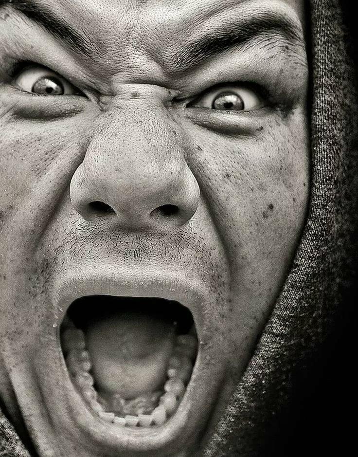 Картинка выражение злости