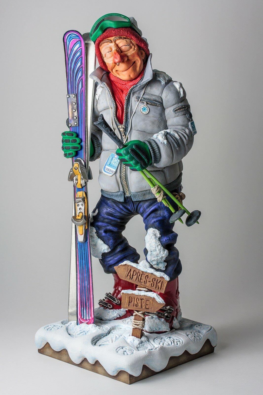 Поздравление с подарком лыжи