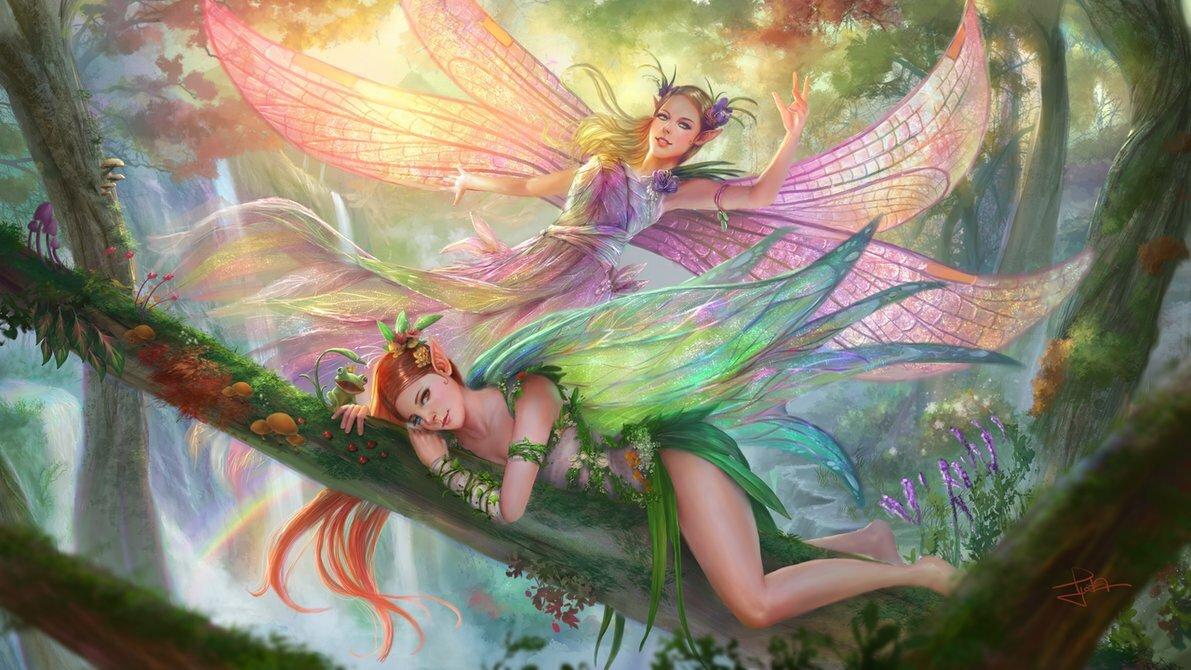 картинки с эльфами и феями на телефон некоторые считают