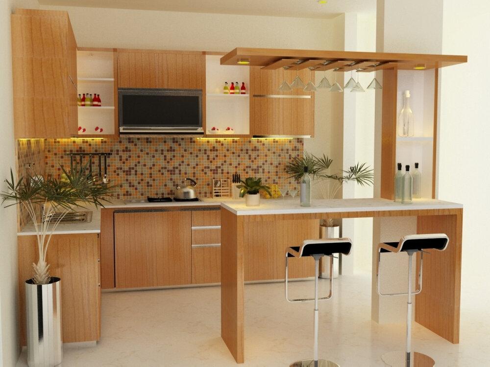 Кухни с барной стойках в картинках