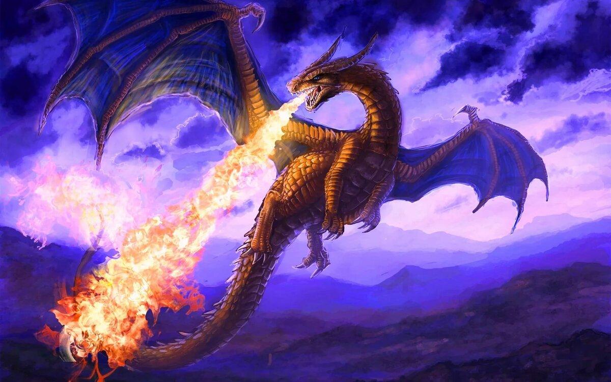 Картинки красивого дракона
