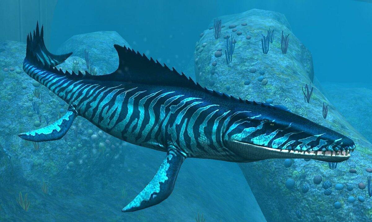 только морской динозавр картинка будут советы установке