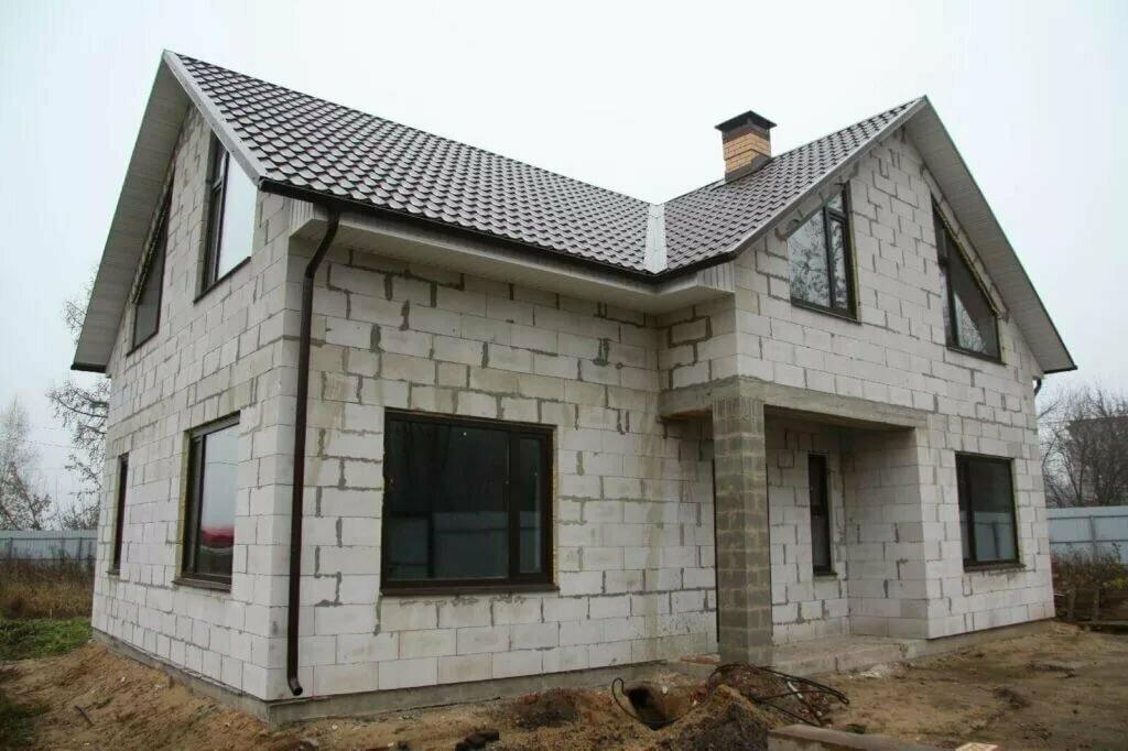 фото строительства домов из инси блоков трудно встречаться тем
