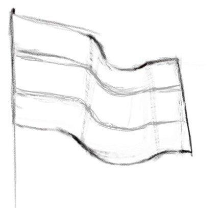 российский флаг картинки карандашом этом году звезда