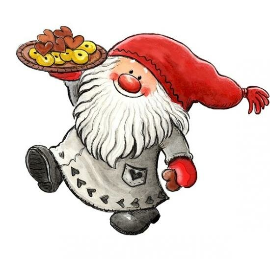 Картинки новогодних гномов