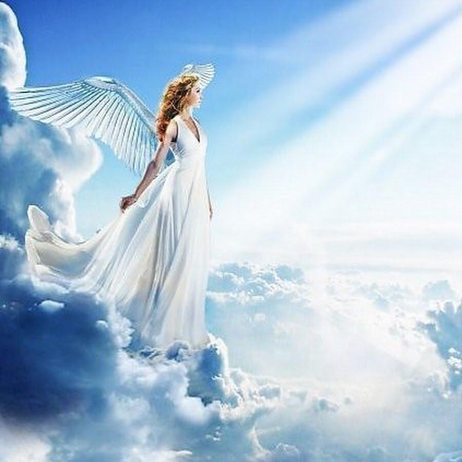 Найти картинку улетающий ангел