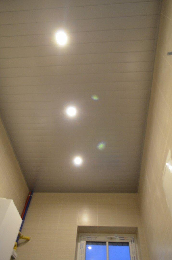 Реечный потолок №45