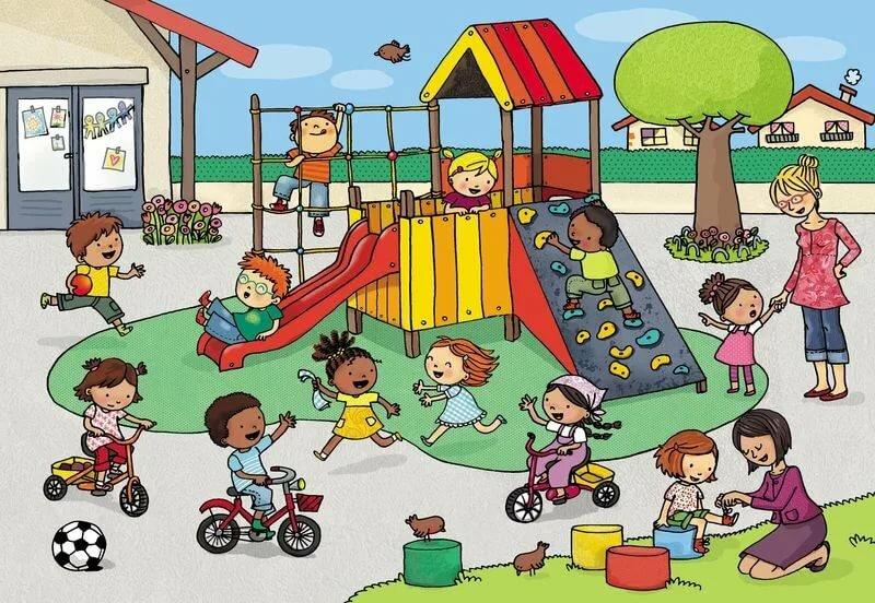 Картинка по адаптации детей