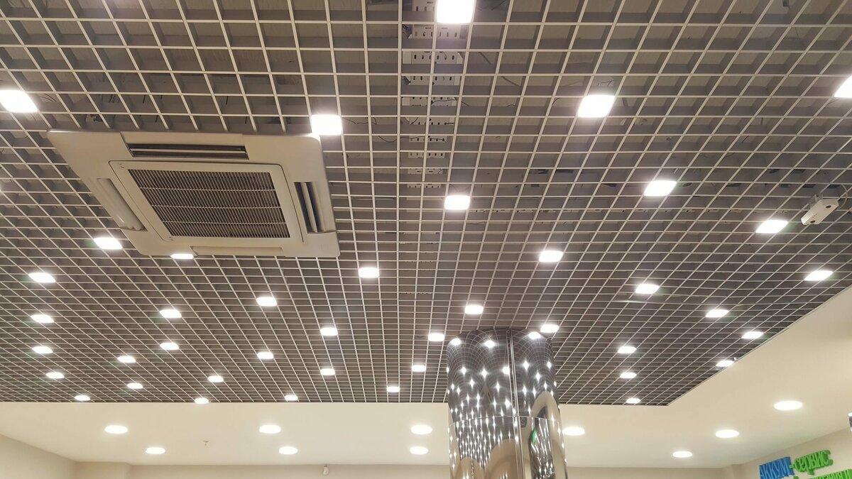 Потолок грильято фото №13
