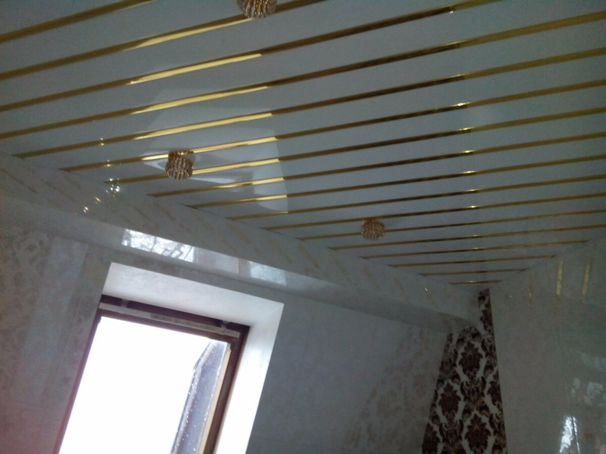 Реечный потолок №62