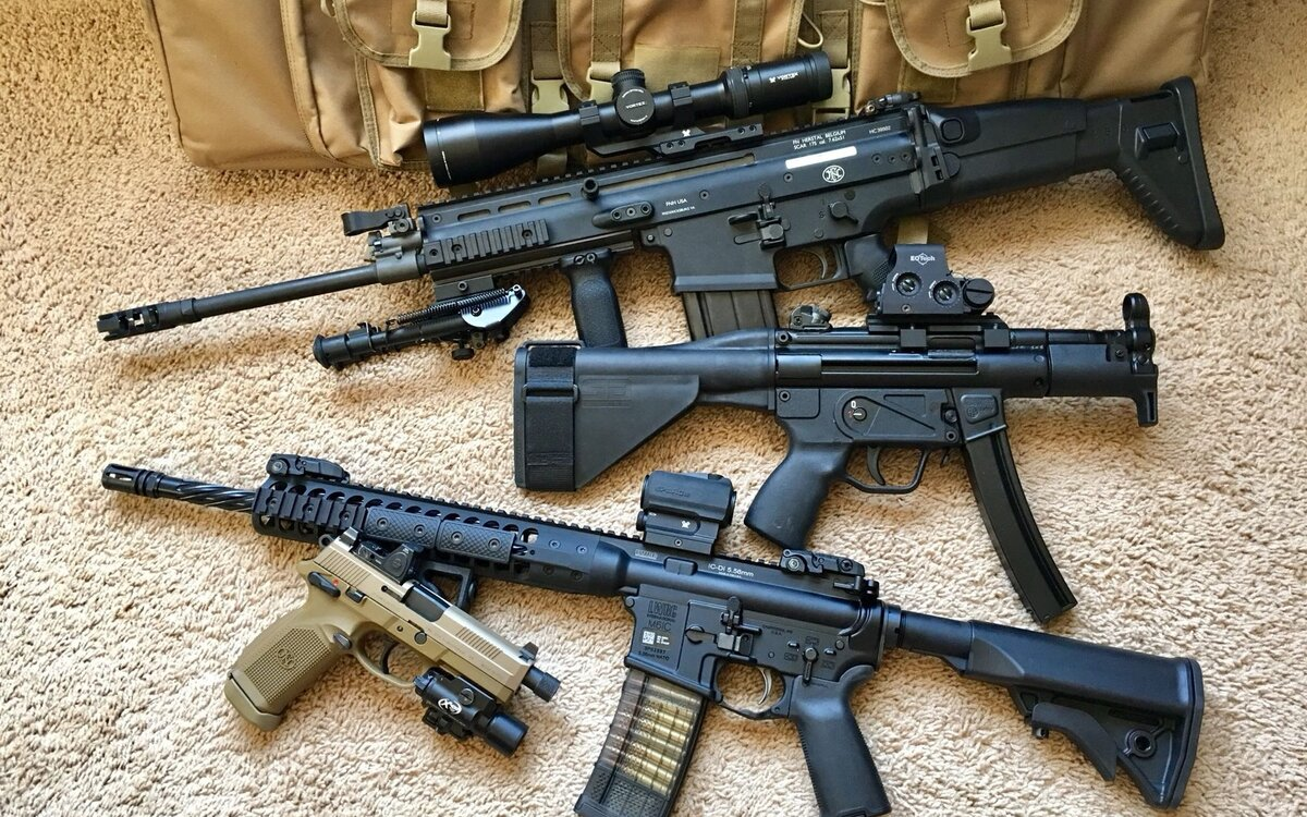 Огнестрельное оружие картинки россии