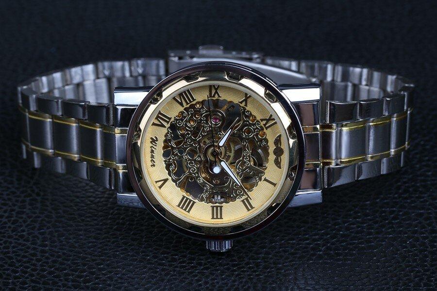 Недорогие мужские механические часы Winner Prestige. Купить без предоплаты в интернет магазине Winner Watch