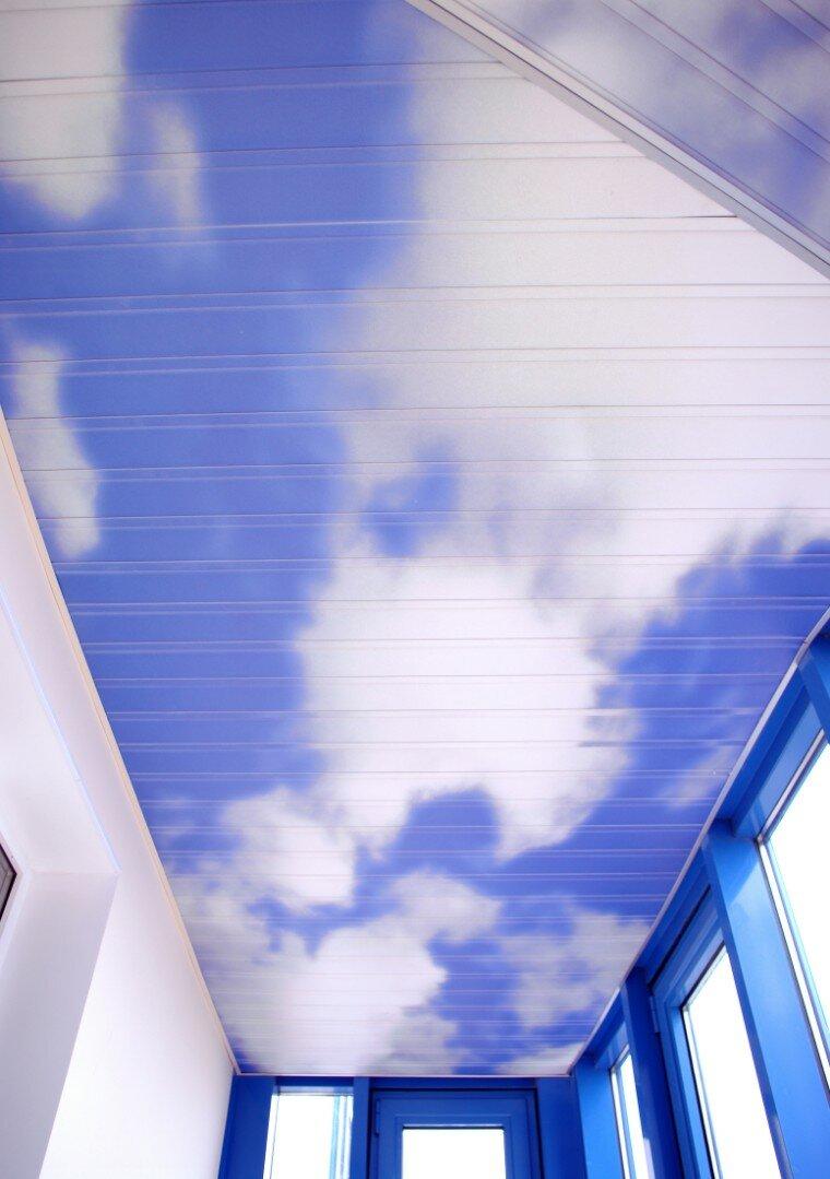 Реечный потолок №121