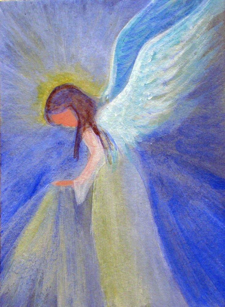 рисунок ангелы вас