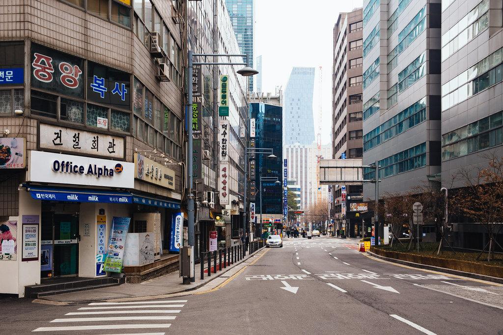 картинки улицы сеула
