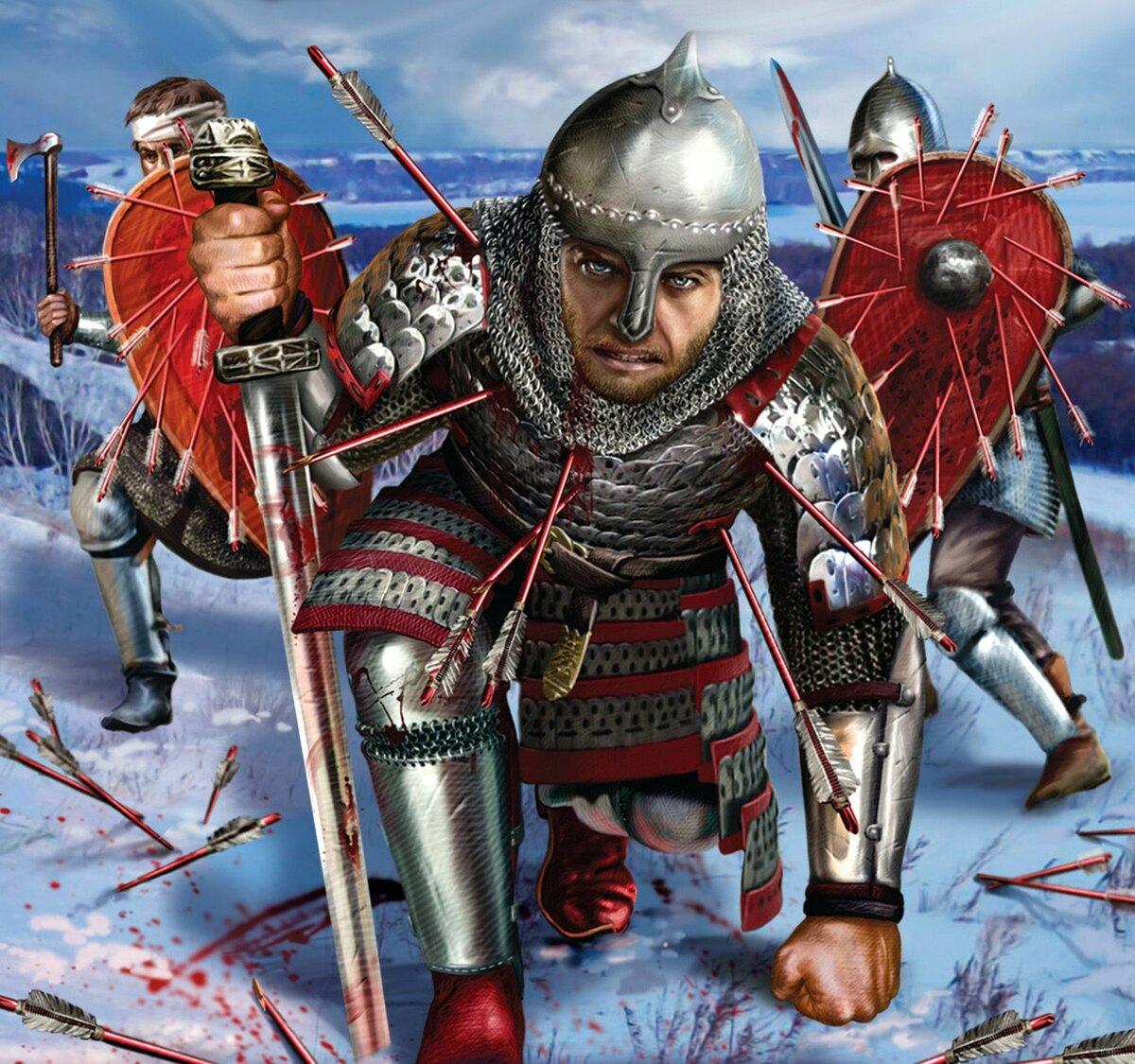 еще картинки русский воин средневековья всего