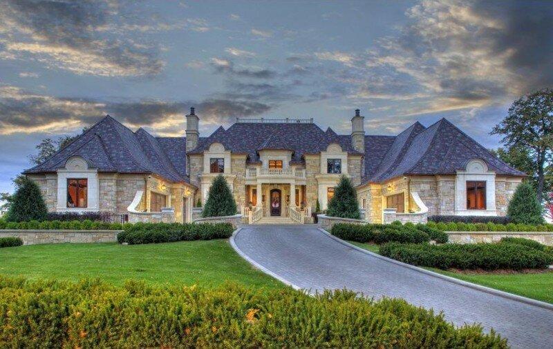 Дом с дорогой картинки