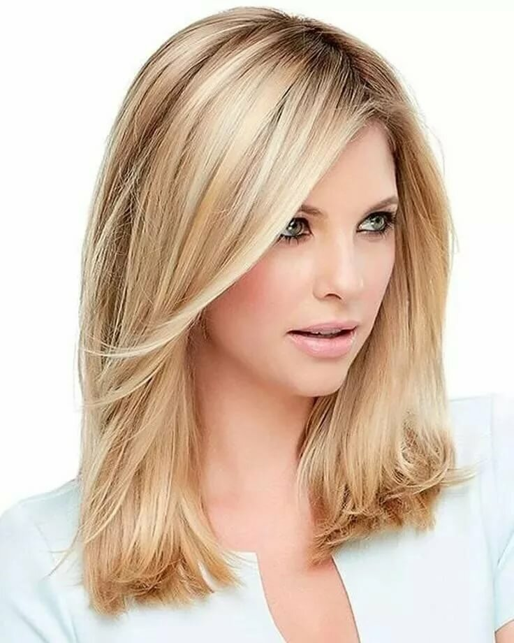 Каскад стрижка на средние волосы картинки