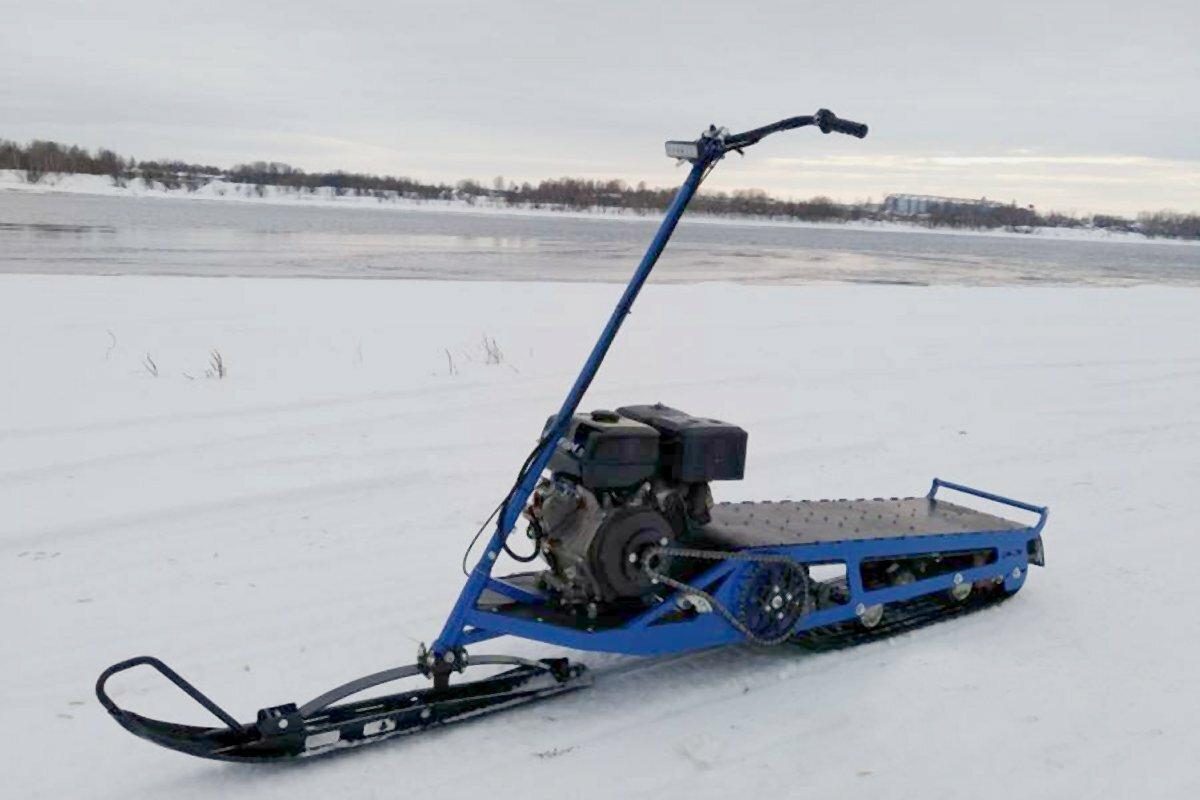 Снегокат с мотором Юкон Эгоист