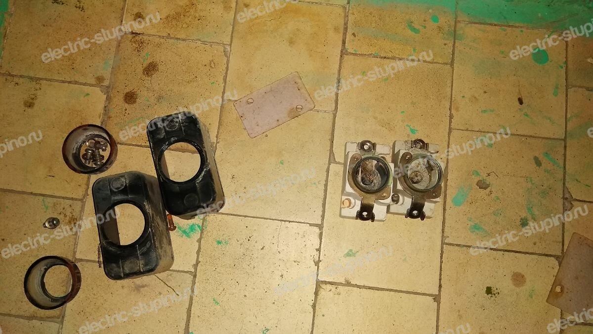 Пробки в этажном электрощите