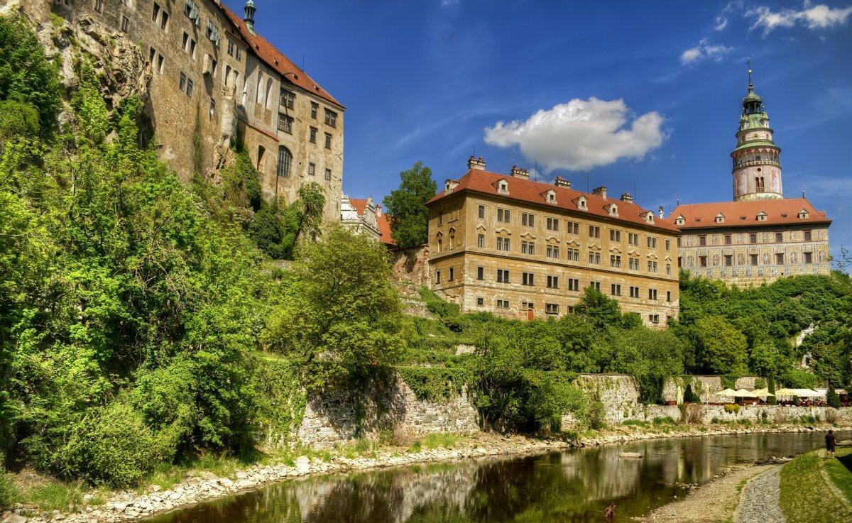 или маленький замки чешский крумлов фото сбивание
