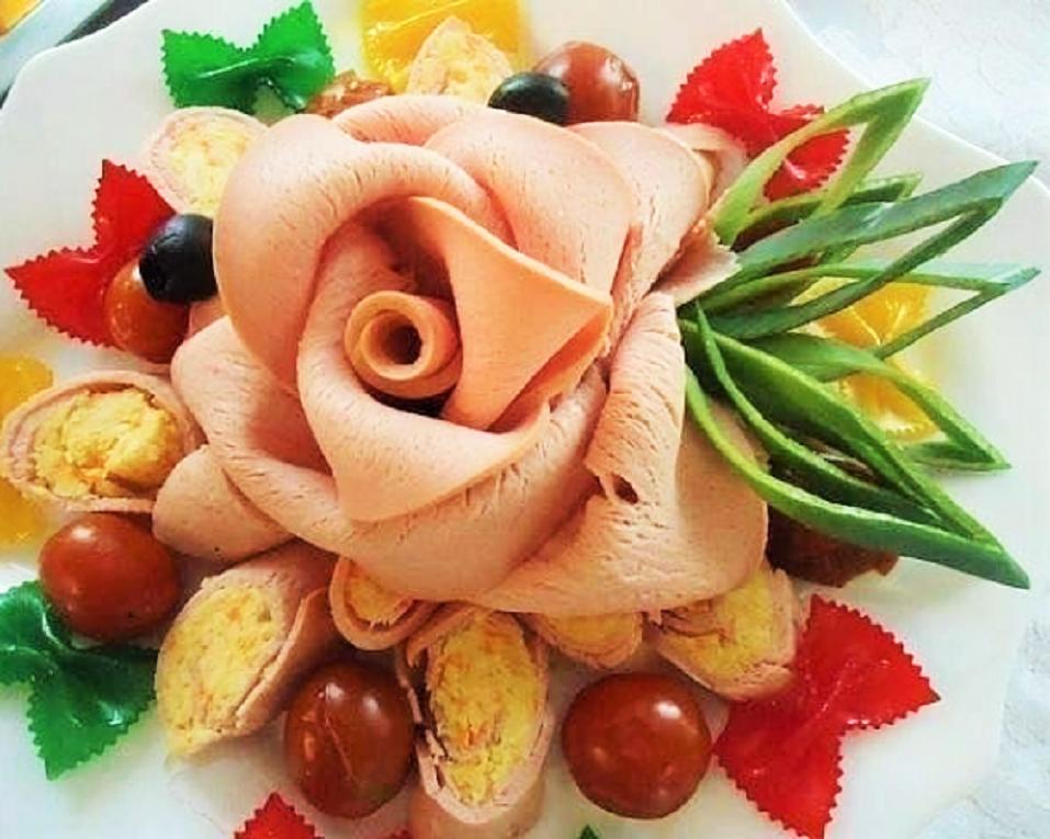 первого раза как оформить салаты и блюда с фото более эффективно