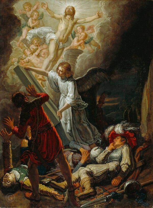 Ластман Питер Питерс (Амстердам 1583-1633) - Воскресение Христа