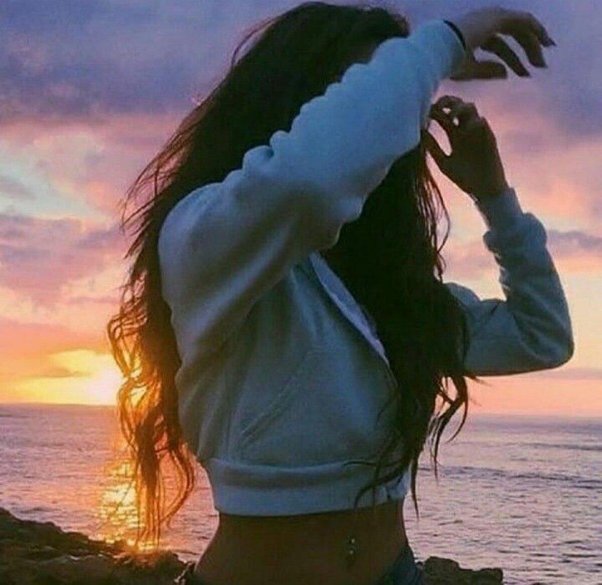 Красивые картинки девочка без лица