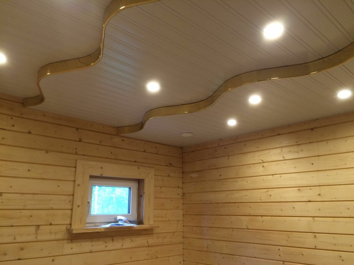 Реечный потолок №113